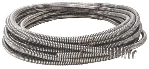 RIDGID CABLE WITH BULB AUGER, C-5, 3/8 IN. X 35 FT.