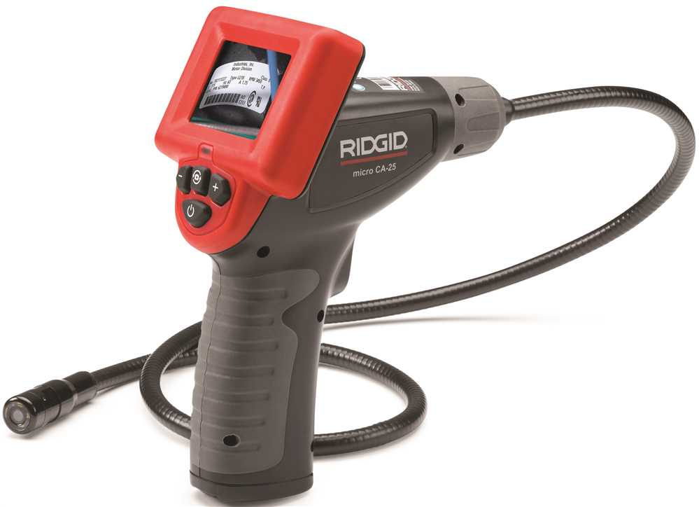 RIDGID� MICRO CA-25 INSPECTION CAMERA