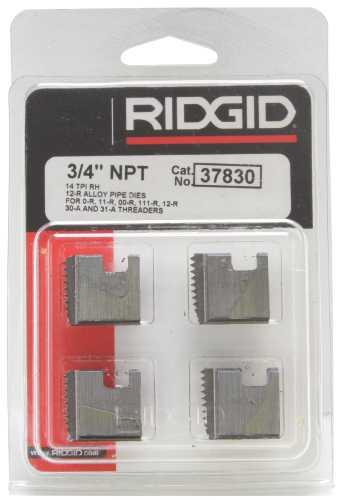 RIDGID GENUINE REPLACEMENT DIE 3/4 IN. NPT