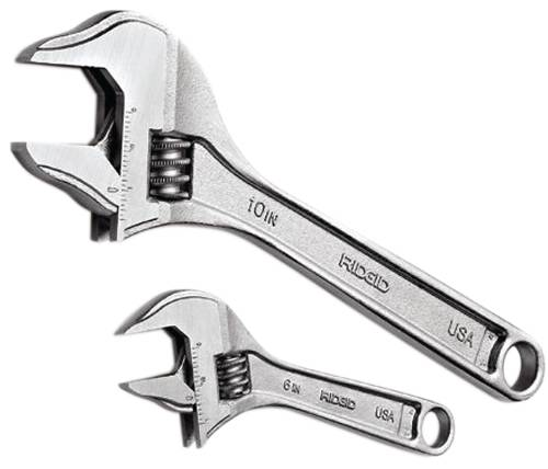 Ridgid Adjustable Wrench 8 In #708