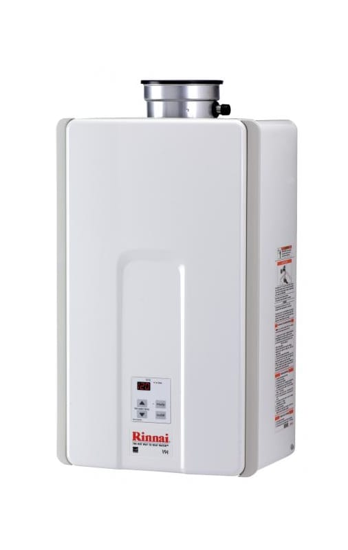 California Energy Commission Registered Lead Law Compliant 9.8GPM Internal Natural Tankless Water Heater