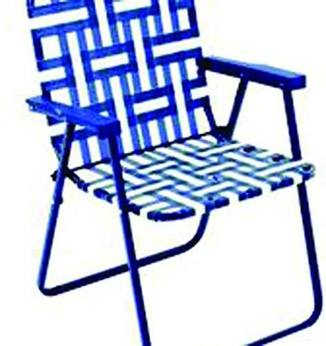 RIO BY055-0154-OG Web Chair, Steel Frame, Powder-Coated
