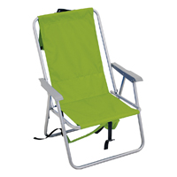 RIO SC525-6973-OG Backpack Chair, 12.8 in H x 26.4 in W x 22.6 in D