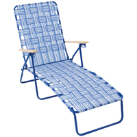 RIO BY405-0154-OG Deluxe Web Lounge, 57-1/4 in H x 25-1/8 in W x 34-1/2 in D, Steel Frame, Powder-Coated