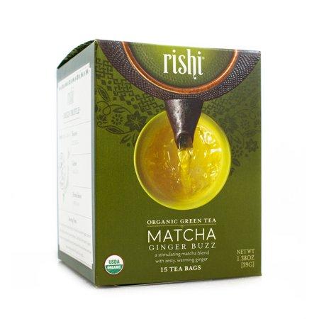 Tea Matcha Ginger Buz ( 6 - 15 BAG )