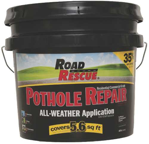 ROAD RESCUE� ASPHALT REPAIR, 40 LB. PAIL