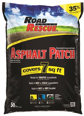 ROAD RESCUE� ASPHALT REPAIR, 50 LB. BAG