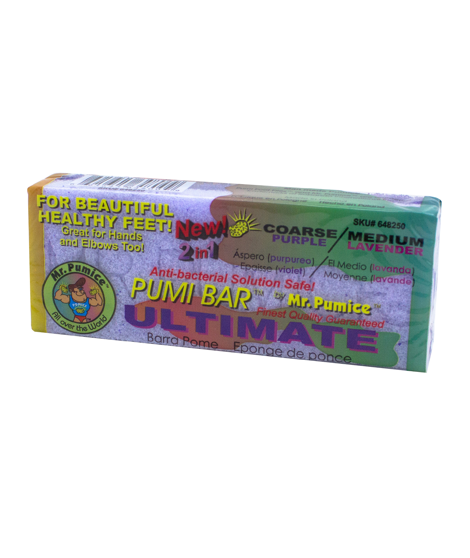 MR PUMICE PB400-12 PURPLE ULTIMATE PUMI BAR, 2 SIDED. EXTRA