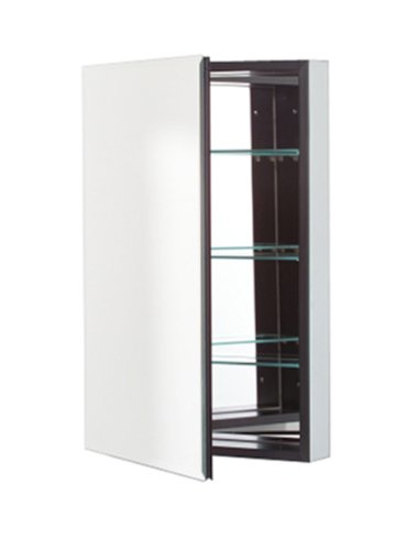 15-1/4X30 Black Cabinet Mirror Door