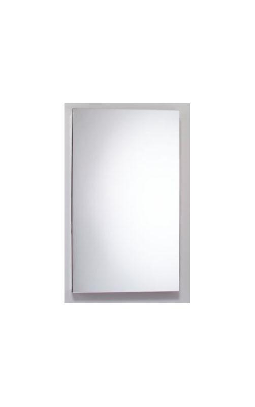 15 X 30 1 Door Mirror Medicine Cabinet Black