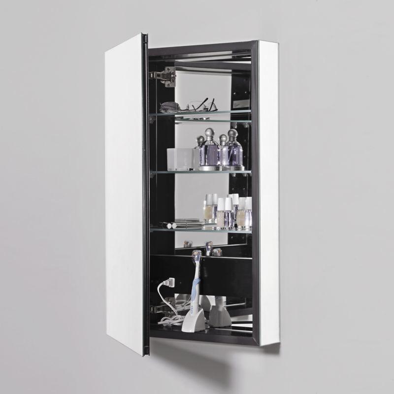 23-1/4X30 Cabinet Mirror Door Gray