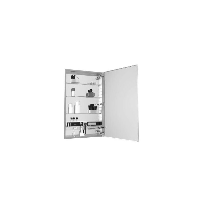 24 X 30 Medium Series Cabinet D4 Flat Beveled Right Hand E4