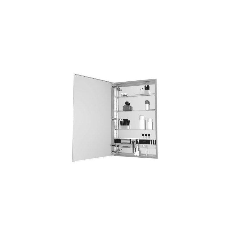 24 X 30 Medium Series Cabinet D4 Flat Plain Left Hand E4