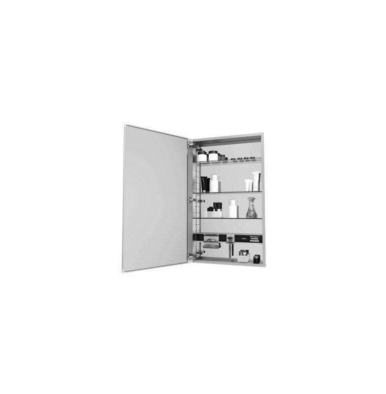 16 X 40 Medium Series Cabinet D4 FLTPLN Left Hand