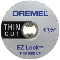 EZ409 5PK EZLOCK THIN CUT WHEEL