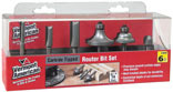 6 PIECE ROUTER BIT SET