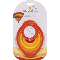 Squish 41011 Mini Collapsible Funnel Set