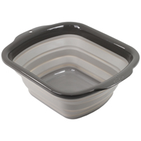 Squish 41026 Collapsible Dish Pan, 6 qt Capacity, Assorted
