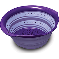COLANDER JUMBO COLLAPSIBLE 6QT