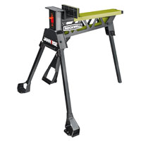 Jawhorse RK9003 Portable Foldable Work Station With Improved Latches, 600 lb, Steel