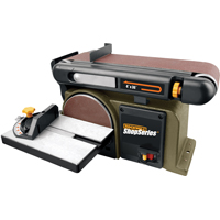 BELT SANDER 6IN DISC / 4X36