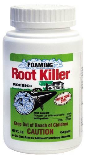 FOAMING ROOT KILLER 1 LB.