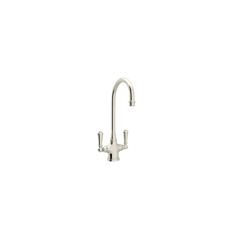 California Energy Commission Registered Lead Law Compliant 1.5 2 Handle Lever Bar Faucet *P&R Polished Nickel