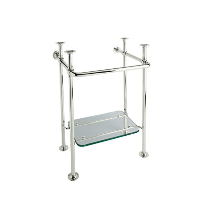Shws Bth Adelphi Washer Stand Polished Nickel