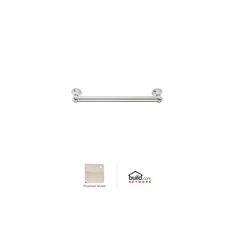 18 Brass Decorative Shower GRAB Bar Polished Nickel