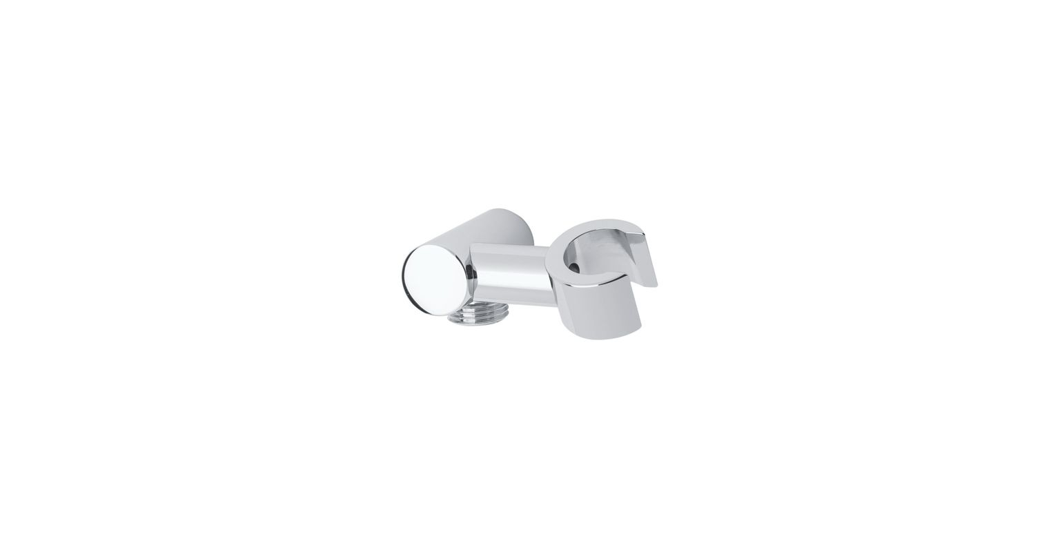 MOD Hand Shower Holder With Outlet Polished Chrome