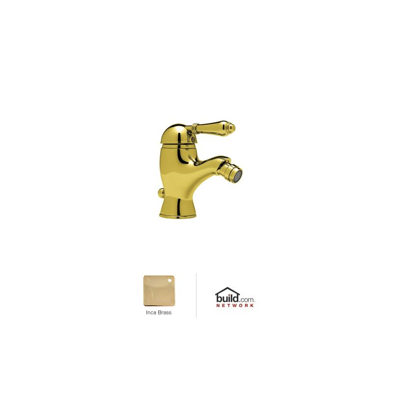 1 Handle Lever One Hole BIDET Faucet Inca Brass 1.5
