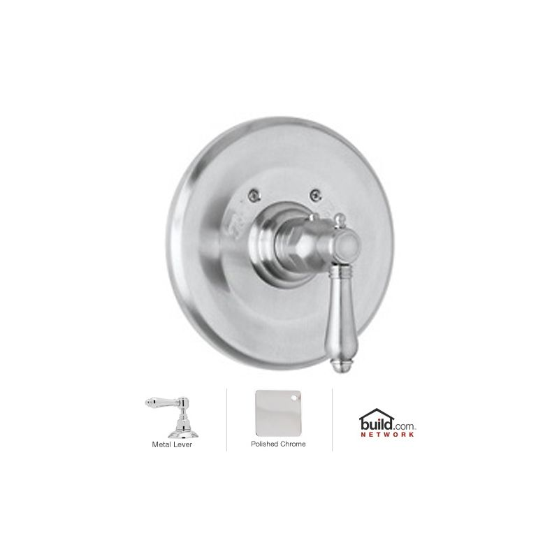 1 Handle Lever Thermostatic Trim CP
