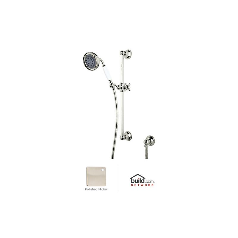 2 GPM 3F Hand Shower Set Polished Nickel