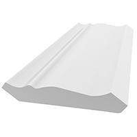 CROWN PVC WHT 9/16X3-5/8X12FT