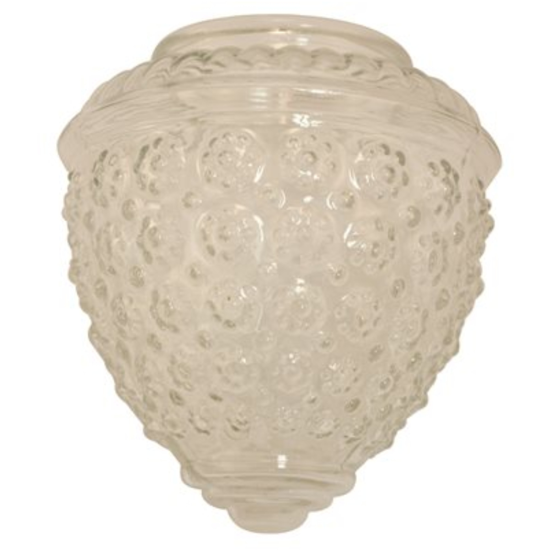 ROYAL COVE� ACORN GLOBE LIGHT FIXTURE REPLACEMENT GLASS, CLEAR, 5-1/2 X 5-1/2 IN., 3-1/4 IN. FITTER