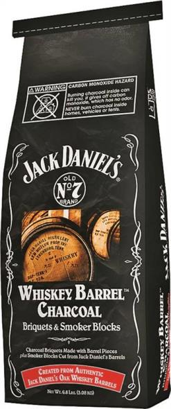 Jack Daniel Whiskey Barrels JD.WBC04.U.06 Charcoal Briquette, 6.8 lb Bag