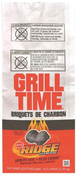 Royal Oak 192-120-172 Natural Charcoal Briquette, 8.3 lb Can, Opaque Black, Solid