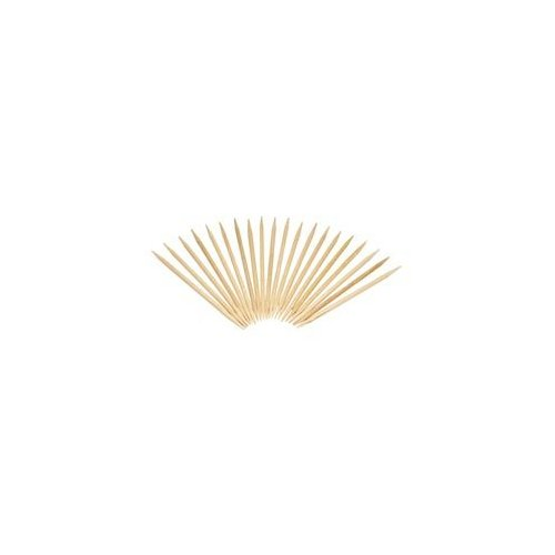 "Round Wood Toothpicks, 2 1/2"", Natural, 19200/Carton"