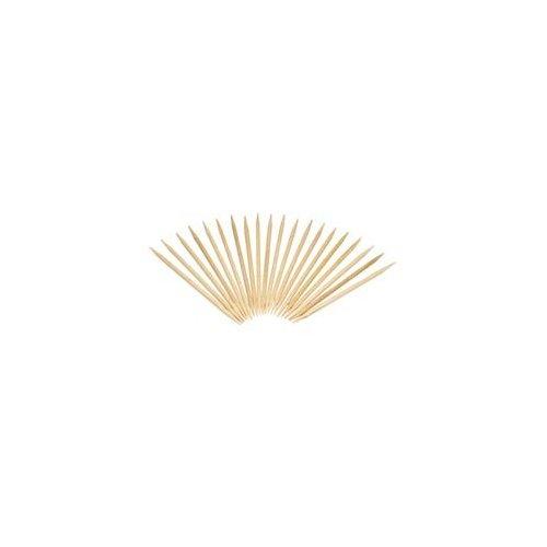 """Round Wood Toothpicks, 2 1/2"""", Natural, 19200/Carton"""