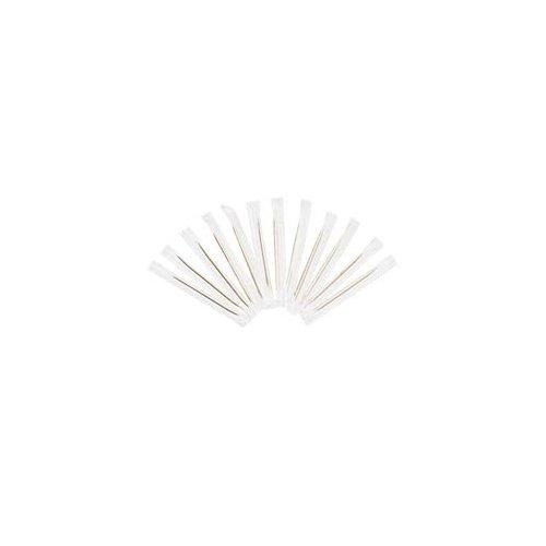 "Cello-Wrapped Round Wood Toothpicks, 2 1/2"", Natural, 1000/Box, 15 Boxes/Carton"
