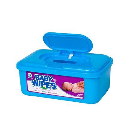 Baby Wipes Tub, Scented, White, 80/Tub, 12 Tubs/Carton