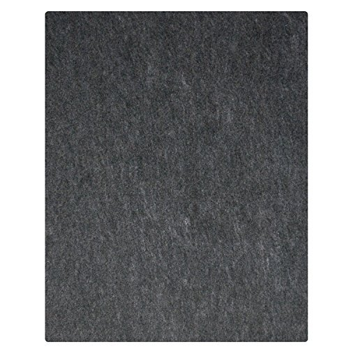 "17 Ft Garage Floor Mat 17' x 7'4"", Charcoal"