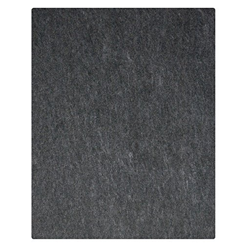 "20 Ft Garage Floor Mat 20' x 7'4"", Charcoal"