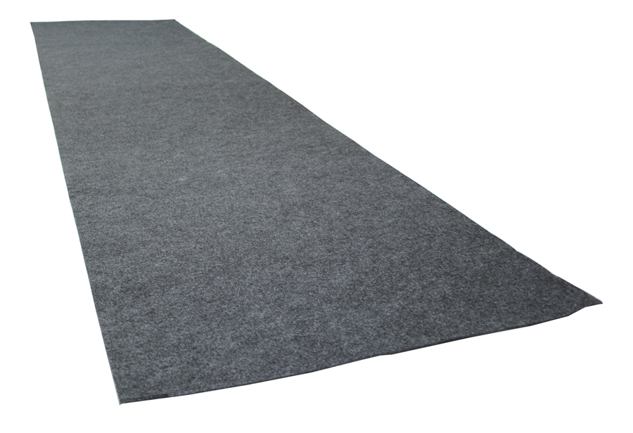 "29"" x 18' Garage Floor Runner - Charcoal"
