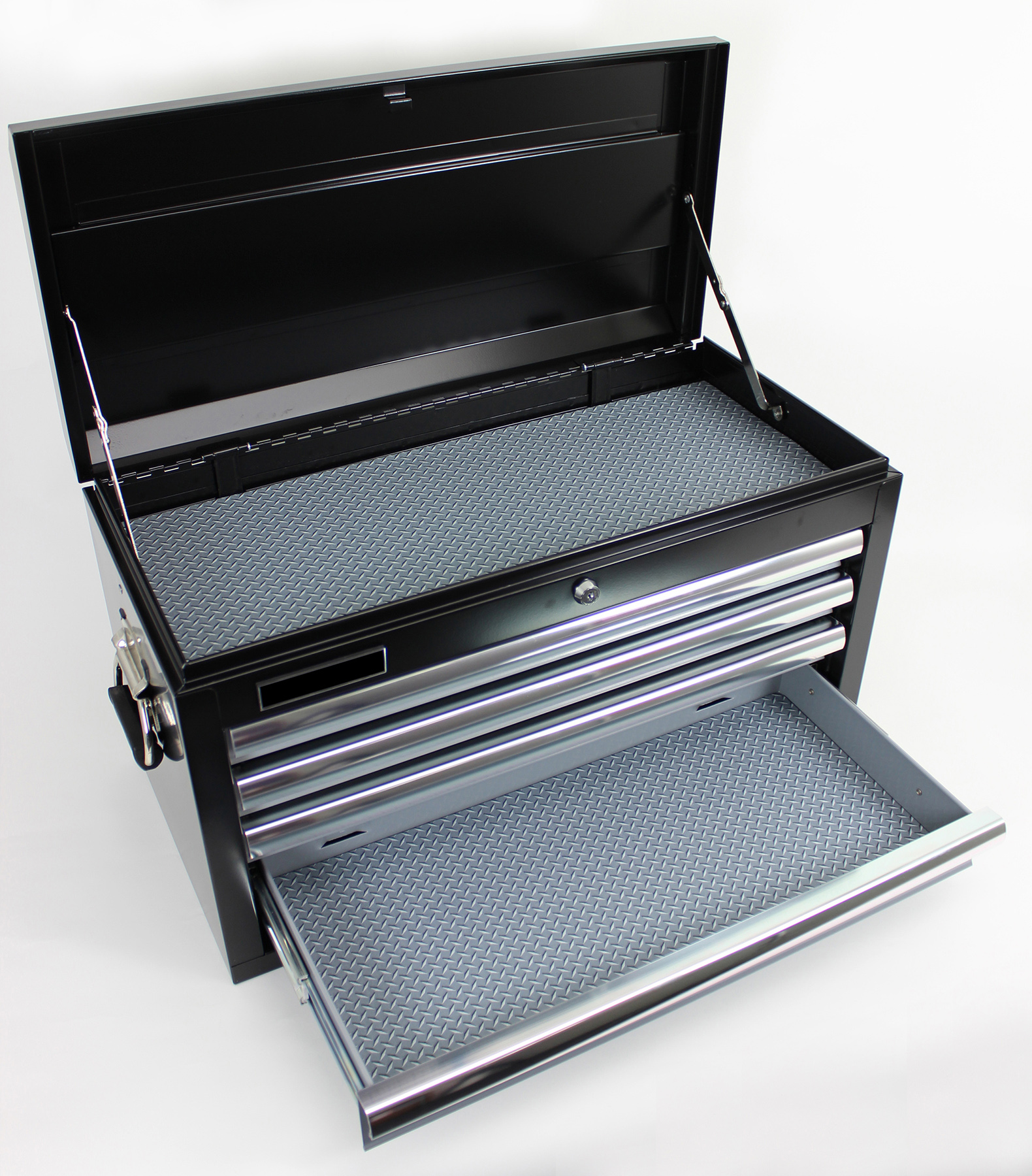 16 x 96 Tool Box Liner, Diamond Plate