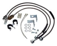 BRAIDED SS BRAKE HOSE KIT