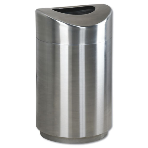 30-Gallon Satin Eclipse Fire-Safe, Stainless Steel Receptacle