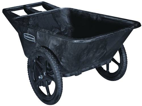 7.5 CU. FT. BIG WHEEL CARTS BLACK