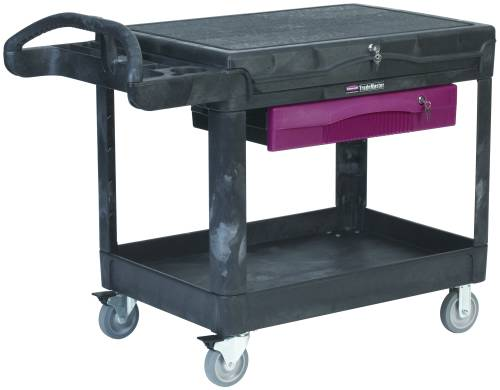 TRADEMASTER PROFESSIONAL CONTRACTORS' CART, BLACK