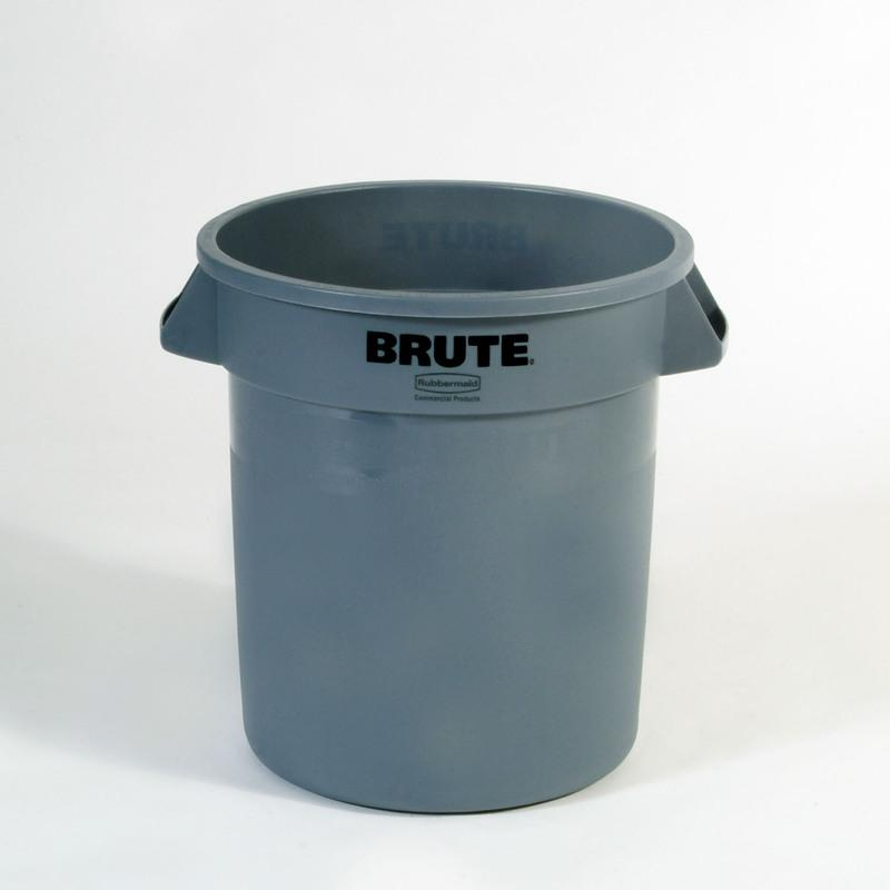 20 GALLONS GRAY ROUND  BRUTE CONTAINER